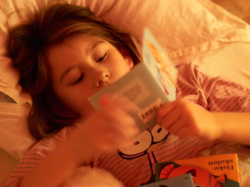 2009-11-21 Bed time reading