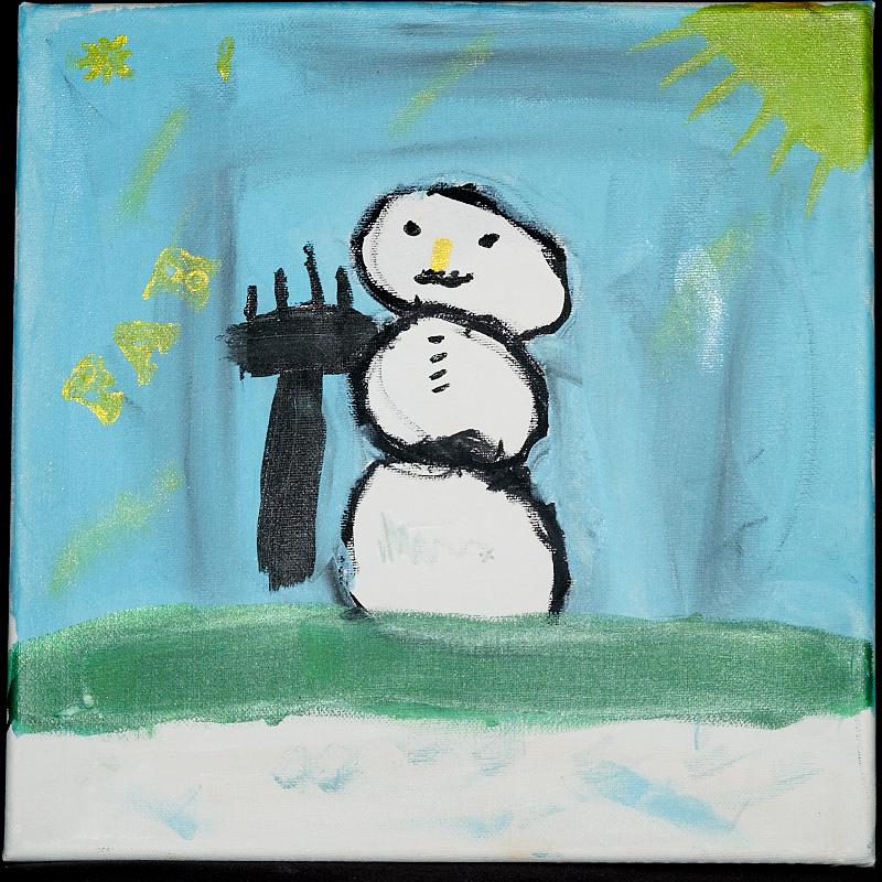 2010-12-29 Snowman by Nicole