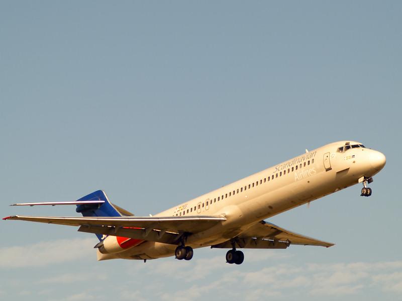 SAS landing