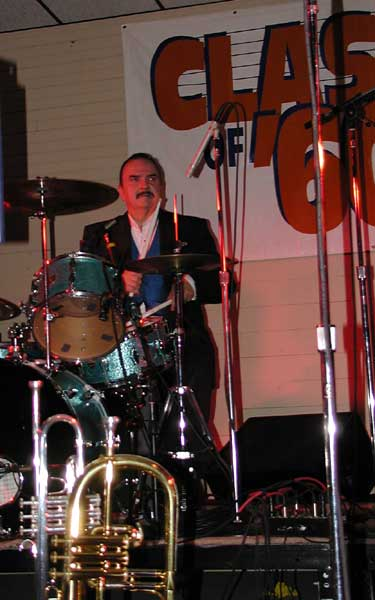 Bob Angelucci - Drums (Magnificent Men; Class Act)