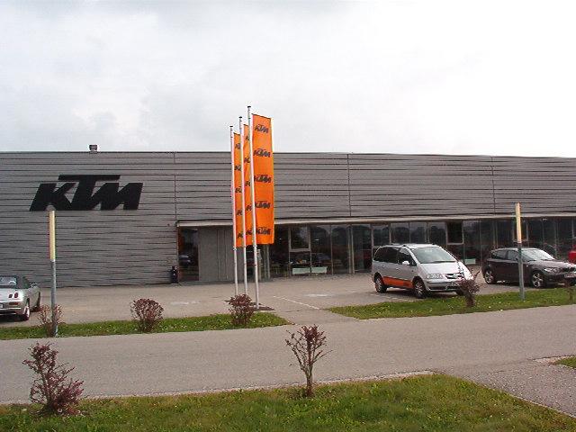 KTM Motor Assembly Plant Mattighofen