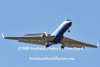 USAF C-37A #70405 on approach to Opa-locka military aviation stock photo #3491