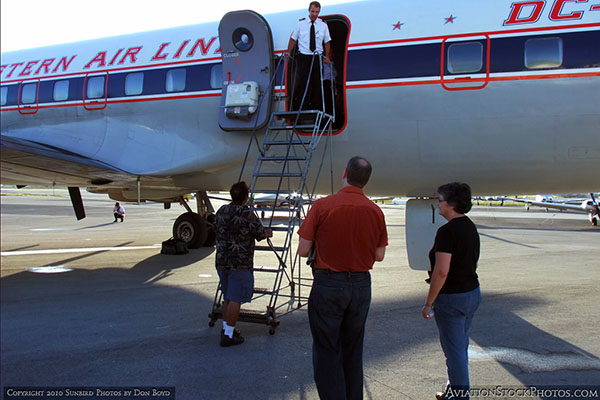 2010 - Historical Flight Foundations restored Eastern Air Lines DC-7B N836D aviation stock photo #1265