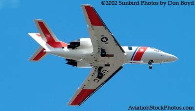 2002 - USCG HU-25 Falcon #CG-2129 - Coast Guard stock photo #1969