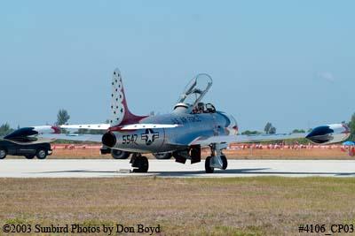 Vintage Aviations Lockheed T-33A N556RH aviation warbird stock photo #4106