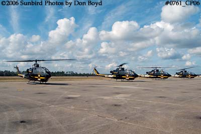 Army Aviation Heritage Foundations Sky Soldiers Bell AH-1 Cobras air show stock photo #0761