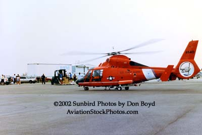 1992 - Coast Guard operations after Hurricane Andrew - HH-65 CG-6540