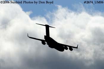 USAF C-17A Globemaster III #88-0266 military aviation stock photo #2674