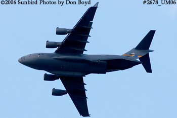 USAF C-17A Globemaster III #88-0266 military aviation stock photo #2678