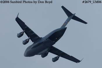USAF C-17A Globemaster III #88-0266 military aviation stock photo #2679