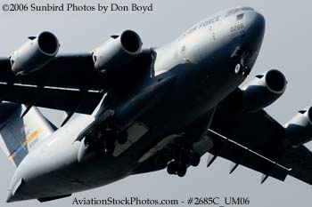 USAF C-17A Globemaster III #88-0266 military aviation stock photo #2685C