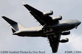 USAF C-17A Globemaster III #88-0266 military aviation stock photo #2688