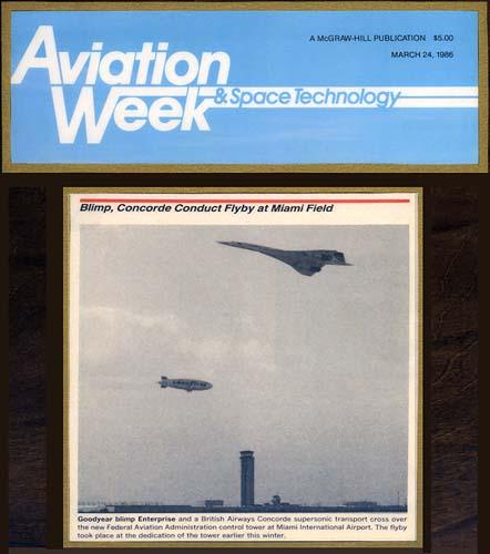 1986 - Aviation Week & Space Technology - MIA Tower dedication