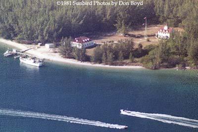 1981 - U. S. Coast Guard Station Lake Worth Inlet on Peanut Island