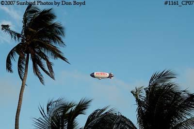 Outback Steakhouse Blimp over South Beach photo #1161