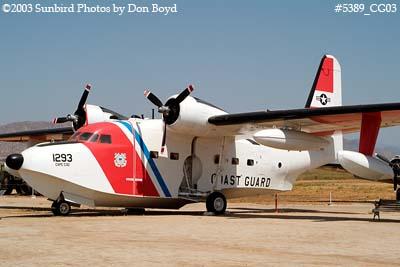 2003 - USCG Grumman HU-16E Albatross #CG 1293 military aviation stock photo #5389