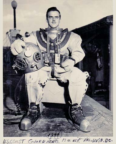 1944 - Deep Sea Diver CM1 Richard Mathias Besola, USCG