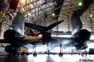 Mid 1980s - SR-71 Blackbird and U-2