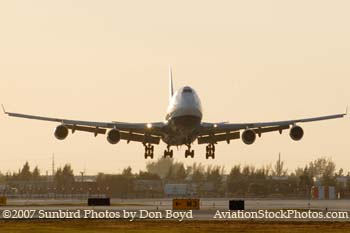 2007 - British Airways B747-436 G-BNLS  aviation stock photo #3052