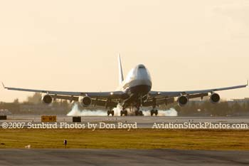 2007 - British Airways B747-436 G-BNLS aviation stock photo #3053