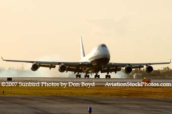 2007 - British Airways B747-436 G-BNLS aviation stock photo #3056
