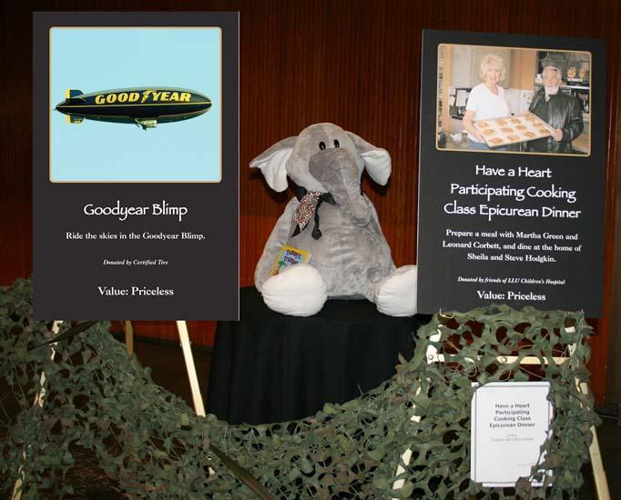 2007 - Goodyear Blimp photo used for the Loma Linda University Childrens Hospital Auction