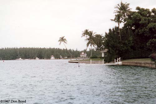 1967 - Coast Guard Station Lake Worth Inlet on Peanut Island from Palm Beach