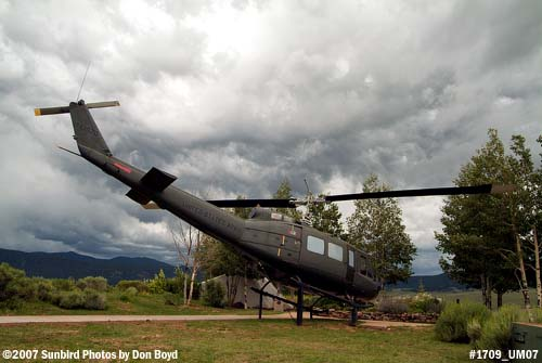 2007 - Vietnam Era Huey at the Vietnam Veterans National Memorial, stock photo #1709