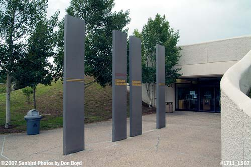 2007 - Entrance to the Vietnam Veterans National Memorial at Angel Fire, New Mexico, stock photo #1711