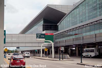 2007 - the new South Terminal at Miami International Airport aviation stock photo #2231