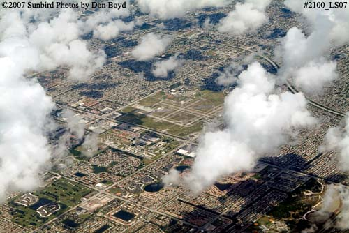2007 - Miramar, Pembroke Pines and Hollywood in Broward County landscape aerial stock photo #2100
