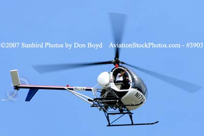 L J Air Corporations Schweizer 269C N17YS helicopter aviation stock photo #3903