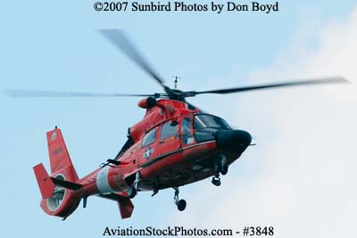 2007 - USCG HH-65C CG-6550 military aviation stock photo #3848