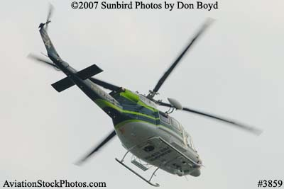 Miami-Dade Fire Rescues Bell 412EP N911RA helicopter stock photo #3859