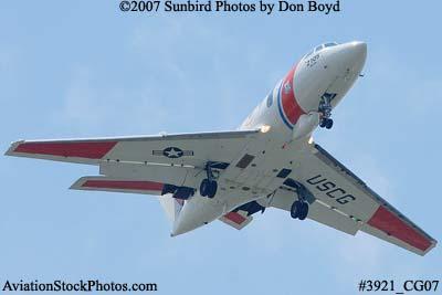 2007 - USCG HU-25C Falcon #2105 military aviation stock photo #3921