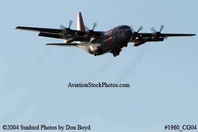 2004 - USCG HC-130H #CG-1705 Coast Guard aviation stock photo #1960