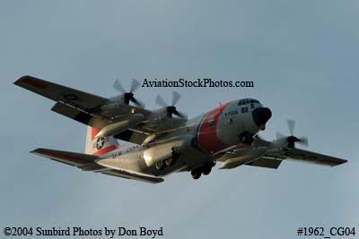 2004 - USCG HC-130H #CG-1705 Coast Guard aviation stock photo #1962