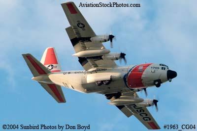 2004 - USCG HC-130H #CG-1705 Coast Guard aviation stock photo #1963