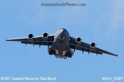 USAF C-17A Globemaster III #04-4136 military aviation stock photo #4614