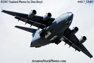 USAF C-17A Globemaster III #04-4136 military aviation stock photo #4617