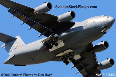 USAF C-17A Globemaster III #04-4136 military aviation stock photo #4620