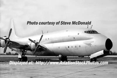 1960s - ex-USN Lockheed XR6O-1 (R6V-1) Constitution N7673C at Opa-locka Airport, Florida