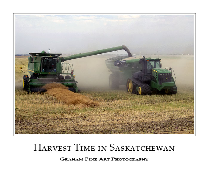 Harvest Time in Saskatchewan