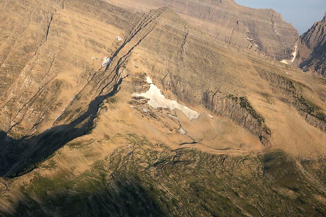 Unnamed Glacier, Mt Peabody NE Face <br> (GlacierNP090109-_016.jpg)