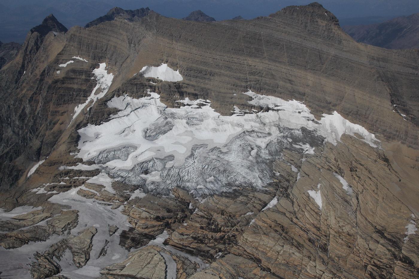 Agassiz Glacier W Segment <br> (GlacierNP090109-_531.jpg)