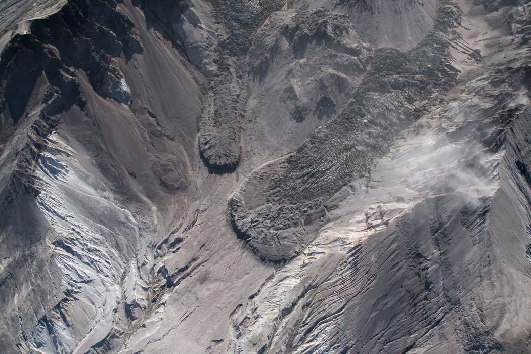 Crater Glacier Lobes <br> (MSH091107-295.jpg)