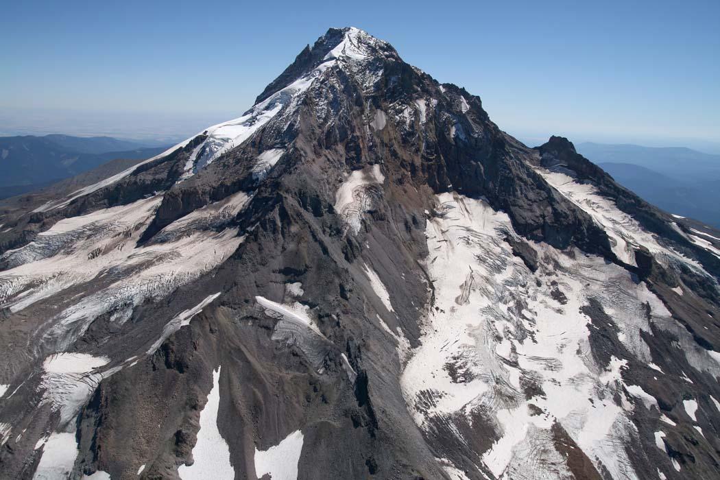 Hood, Sandy Glacier & NW Face <br> (Hood082407-_036.jpg)