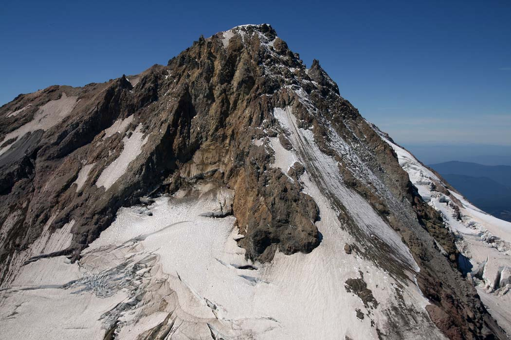 Hood, Upper Newton Glark Glacier/Cooper Spur<br> (Hood082407-_095.jpg)