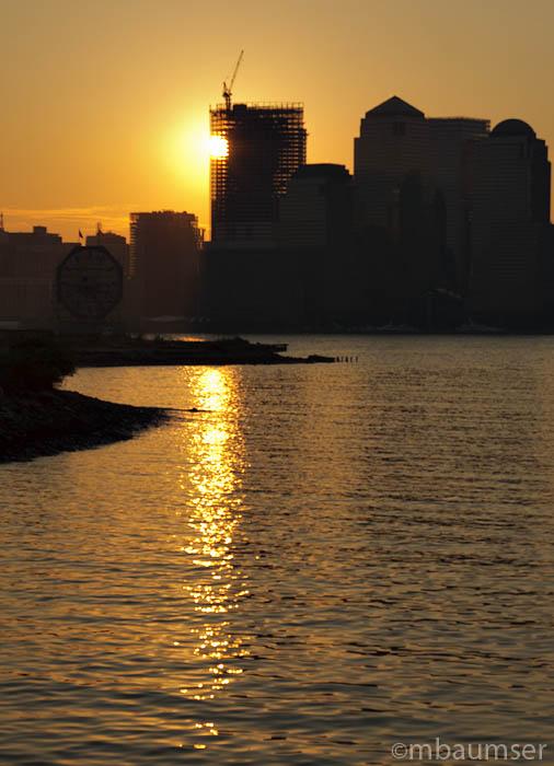 Sun Up On The City
