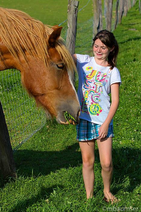 Lea and Horse